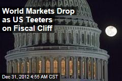 World Markets Drop as Fiscal Cliff Nears