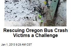 Rescuing Oregon Bus Crash Victims a Challenge