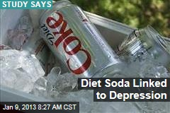 Diet Soda Linked to Depression