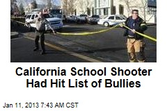 California School Shooter Had Hit List of Bullies