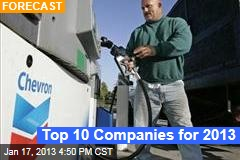 Top 10 Companies for 2013