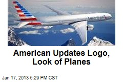 American Updates Logo, Look of Planes