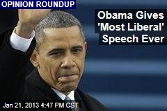 Obama Gives &amp;#39;Most Liberal&amp;#39; Speech Ever
