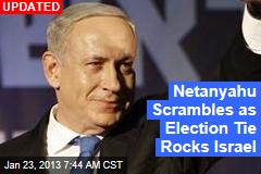 Israel Election in &amp;#39;Stunning Deadlock&amp;#39;