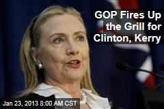 GOP Fires Up the Grill for Clinton, Kerry