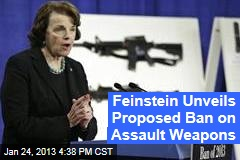 Feinstein Unveils Proposed Ban on Assault Weapons