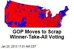 GOP Moves to Scrap Winner-Take-All Voting