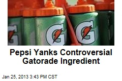 Pepsi Yanks Controversial Gatorade Ingredient