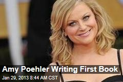 Amy Poehler Writing First Book