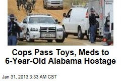 Cops Pass Toys, Meds to Alabama Hostage