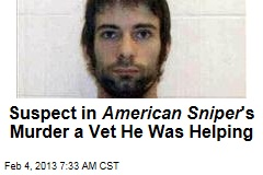 American Sniper 'Killed by Vet He Was Trying to Help'