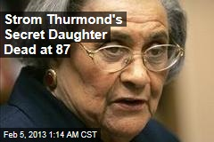 Segregationist&amp;#39;s Secret Daughter Dead at 87