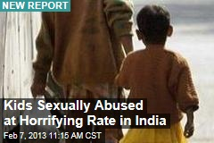 Kids Sexually Abused at Horrifying Rate in India