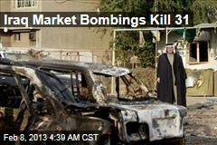 31 Killed in Iraq Market Car Bombings