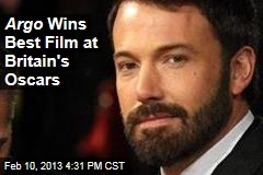 Argo Wins Best Film at Britain's Oscars