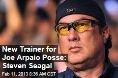 New Trainer for Joe Arpaio Posse: Steven Seagal