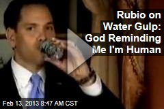 Rubio&amp;#39;s Water Gulp Goes Viral
