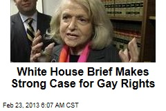 White House Brief Makes Strong Case for Gay Rights