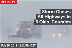 Fresh Storm Wallops Great Plains