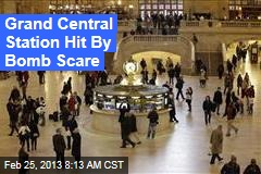 Grand Central Station Hit By Bomb Scare