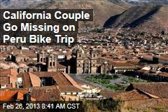 California Couple Go Missing on Peru Bike Trip