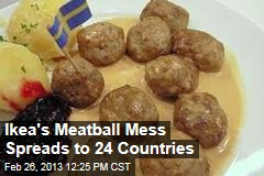 Ikea&amp;#39;s Meatball Mess Spreads to 24 Countries