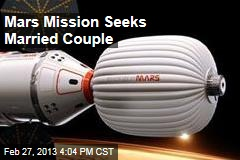 Mars Mission Seeks Married Couple