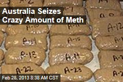 Australia Seizes Crazy Amount of Meth