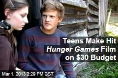 Teens Make Hit Hunger Games Film on $30 Budget