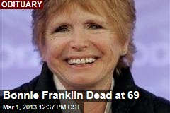 Bonnie Franklin Dead at 69