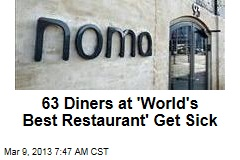 63 Diners at 'World's Best Restaurant' Get Sick