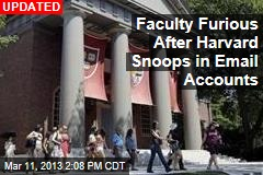 Faculty Furious After Harvard Snoops in Email Accounts