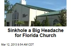 Florida Church in Insurance Fight Over Sinkhole