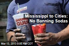 Mississippi to Cities: No Banning Sodas