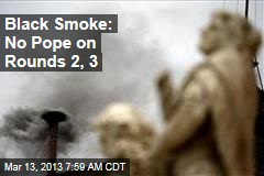 Black Smoke: No Pope on Rounds 2, 3