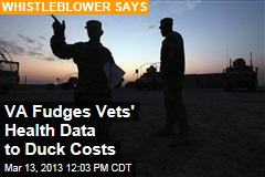 VA Fudges Vets' Health Data to Duck Costs
