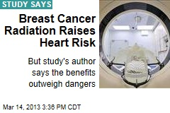 Breast Cancer Radiation Raises Heart Risk
