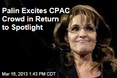Palin Dings Obama, 'Calculating' GOP in CPAC Speech