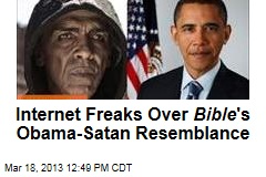 Internet Freaks Over Bible &amp;#39;s Obama-Satan Resemblance