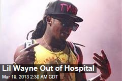 Lil Wayne Out of Hospital