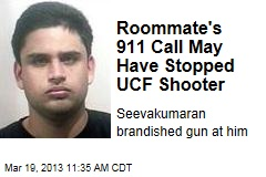Roommate&amp;#39;s 911 Call May Have Stopped UCF Shooter