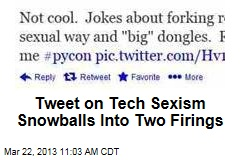 Tweet on Tech Sexism Snowballs Into Two Firings
