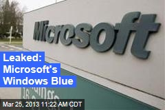 Leaked: Microsoft&amp;#39;s Windows Blue