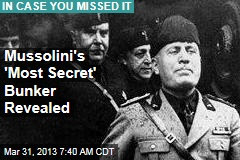 Mussolini&amp;#39;s &amp;#39;Most Secret&amp;#39; Bunker Revealed