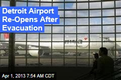 Detroit Airport Evacuated Over Suspicious Item