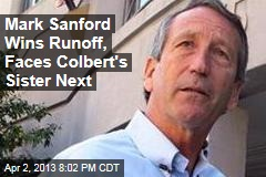 Mark Sanford Wins Runoff, Faces Colbert&amp;#39;s Sister Next