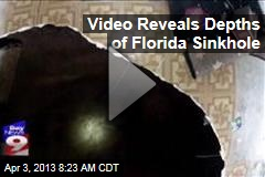 Video Reveals Depths of Florida Sinkhole
