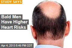 Bald Men Have Higher Heart Risks