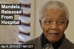 Mandela Released From Hospital