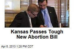 Kansas Passes Tough New Abortion Bill